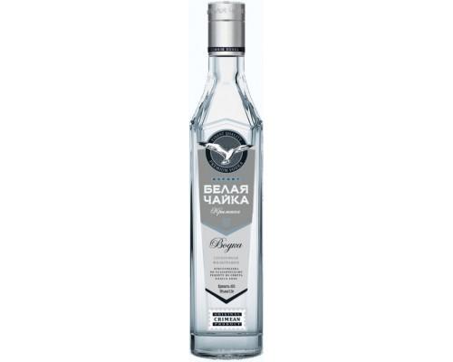 Водка Белая Чайка Серебряная фильтрация 0.5 л