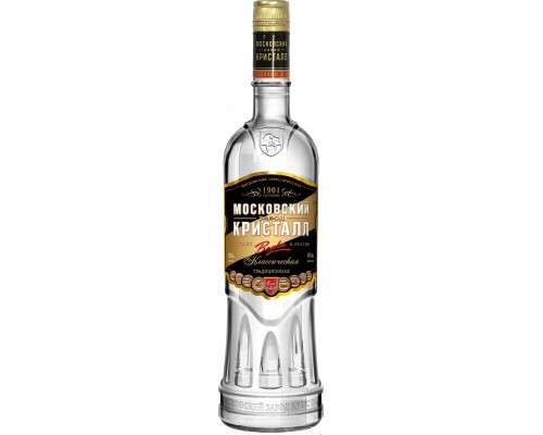 Водка Московский Завод Кристалл Классическая 0.5 л