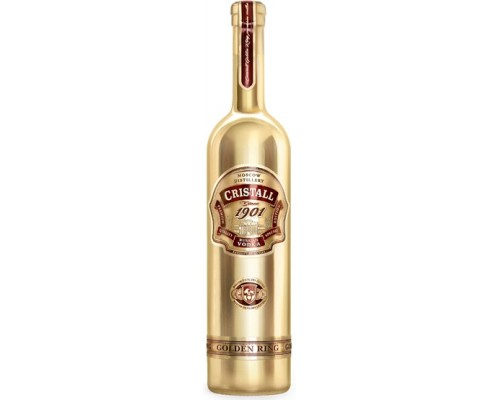 Водка Moscow Distillery Cristall Golden Ring 0.75 л
