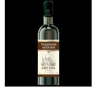 Вино АПСАРА белое полусладкое 0,75 л