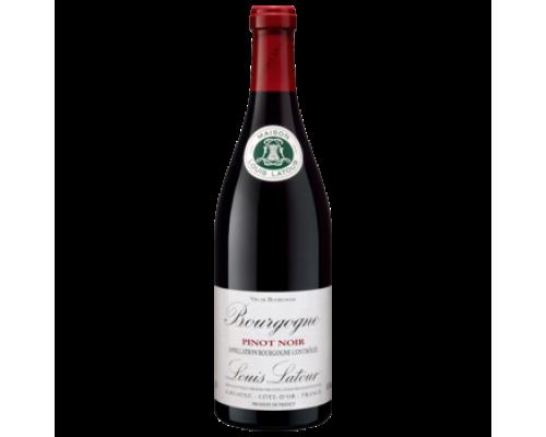 Вино Louis Latour Pinot Noir Bourgogne красное сухое 0,75 л