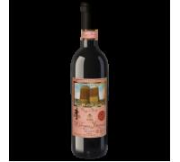 Вино Девичья башня красное полусухое 0,75 л