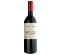 Вино Chateau D'Haurets красное сухое 0,75 л