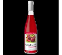 Вино фруктовое Гудбери Клюква с Вишней сладкое 0,7 л