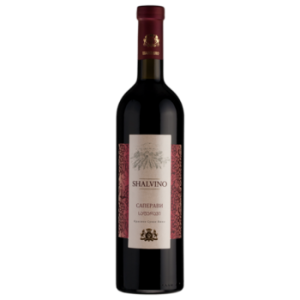 Вино Шалвино Саперави красное сухое 0,75 л