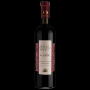 Вино Шалвино Алазанская долина красное полусладкое 0,75 л