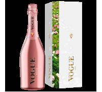 Вино игристое VOGUE розовое брют в подарочной упаковке 0,75 л