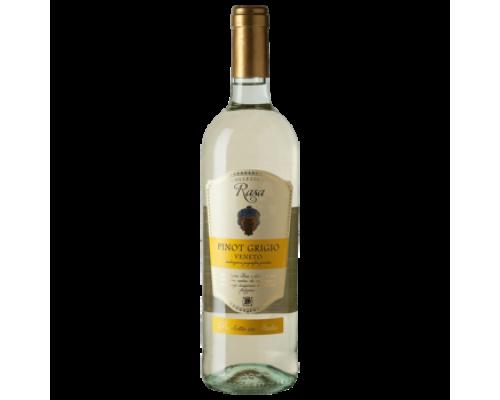 Вино Rasa Pinot Grigio Veneto белое сухое 0,75 л