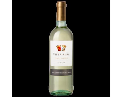 Вино Villa Alba Pinot Grigio белое сухое 0,75 л