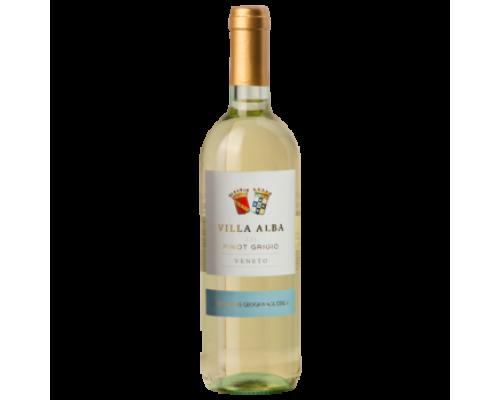 Вино Villa Alba Tai Pinot Grigio белое сухое 0,75 л