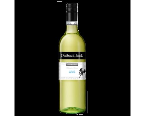 Вино Berton Outback Jack Pinot Grigio белое сухое 0,75 л
