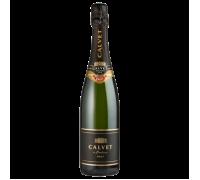 Вино игристое Calvet Creman de Bordaux белое брют 0,75 л