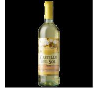 Вино Castillo del Sol белое полусладкое 1 л