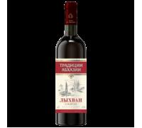 Вино ЛЫХВАН красное полусладкое 0,75 л