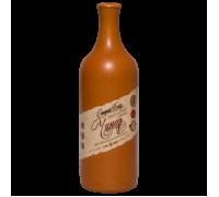 Вино Чинар красное полусладкое в керамической бутылке 0,75 л