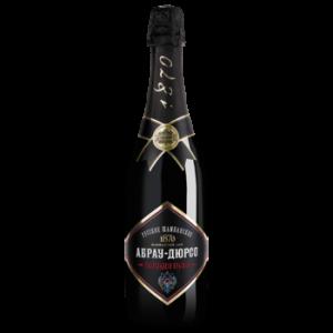 Вино игристое Абрау-Дюрсо красное полусладкое 0,75 л