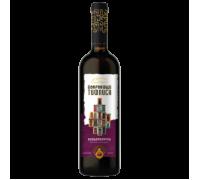 Вино Сокровище Тифлиса Киндзмараули красное полусладкое 0,75 л