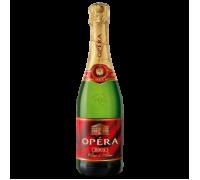 Вино игристое Opera Blanc de Blanc белое полусладкое 0,75 л