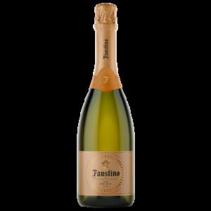 Вино игристое Faustino Cava белое полусухое 0,75 л
