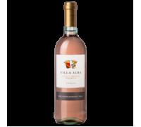 Вино Villa Alba Pinot Grigio Розато розовое сухое 0,75 л