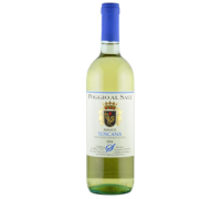 Вино Poggio al Sale Toscana белое сухое 0,75 л